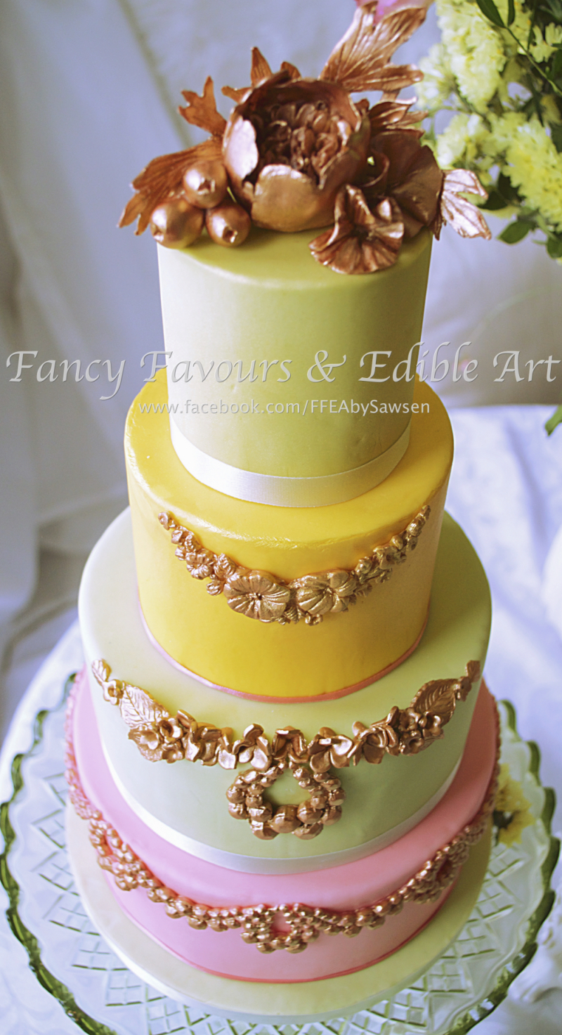 bright-spring-french-bas-relief-laduree-inspired-wedding-cake-4 ...
