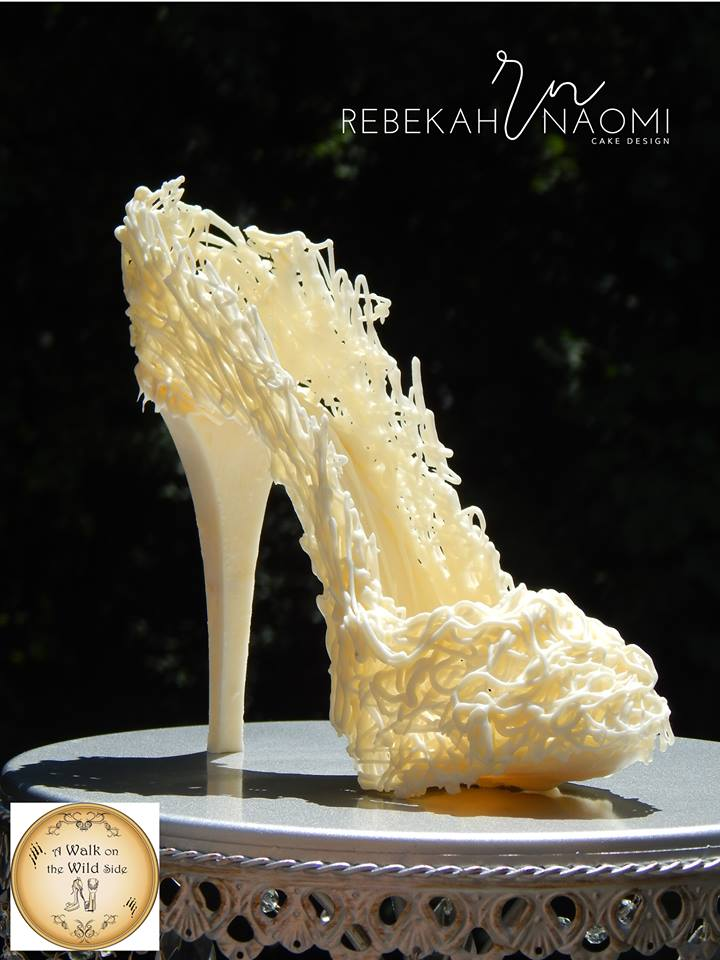 the white version of Rebekah's sugar shoe