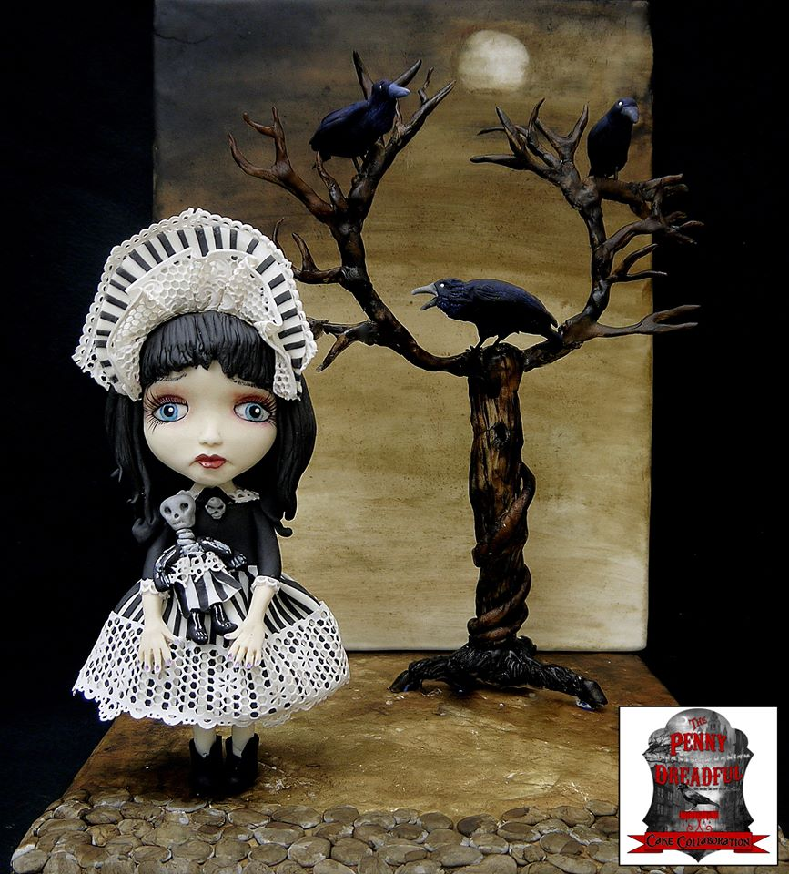 Sweet Creations Cakes - Creepy Doll in the Woods