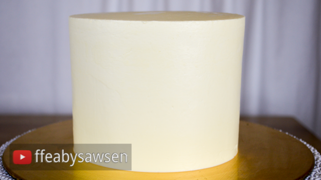 perfectly smooth buttercream cake tutorial ffeabysawsen