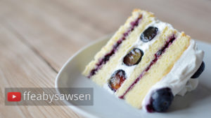 Blueberry Shortcake Recipe – including vegan version