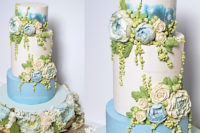buttercream peony bas-relief wedding cake tutorial for American Cake Decorating Magazine - ffeabysawsen