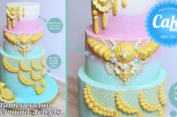 ButtercreamMermaid Jewels Cake - Cake Masters Magazine - May 2017 - ffeabysawsen
